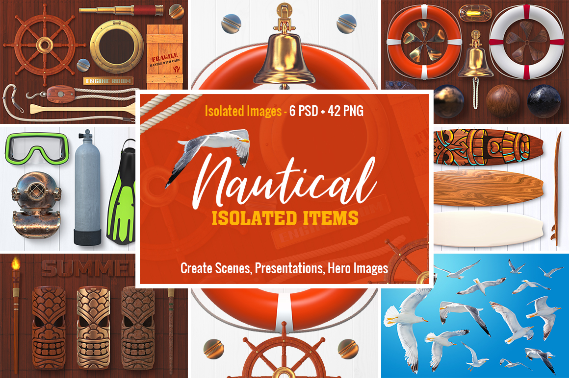 0 Isolated Nautical Items Preview 1.jpg