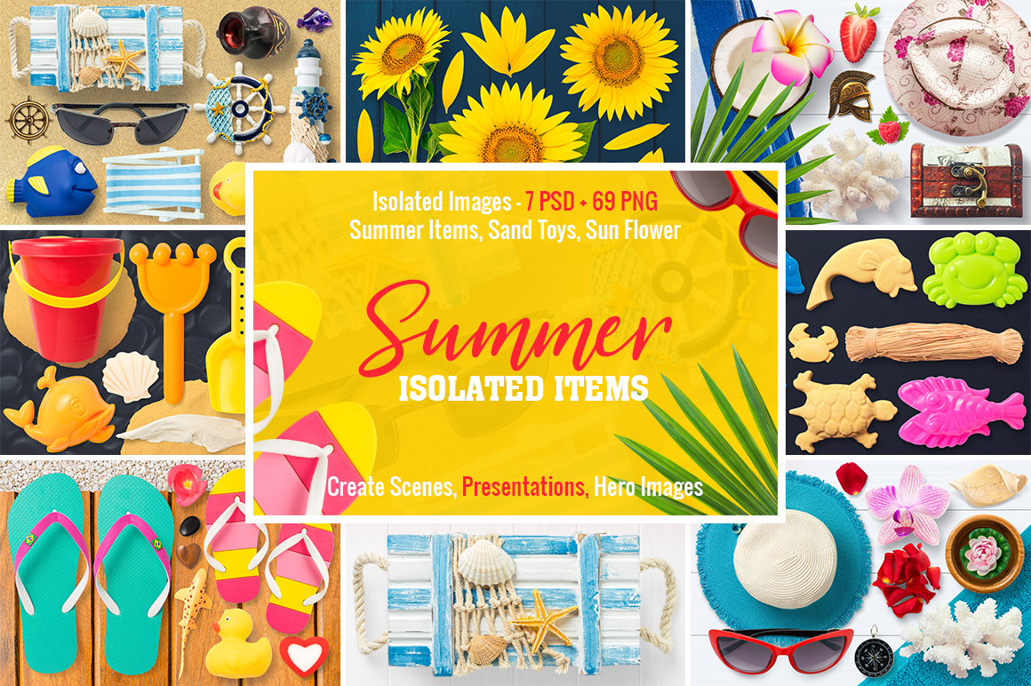 0 Isolated Summer Items Preview 1.jpg