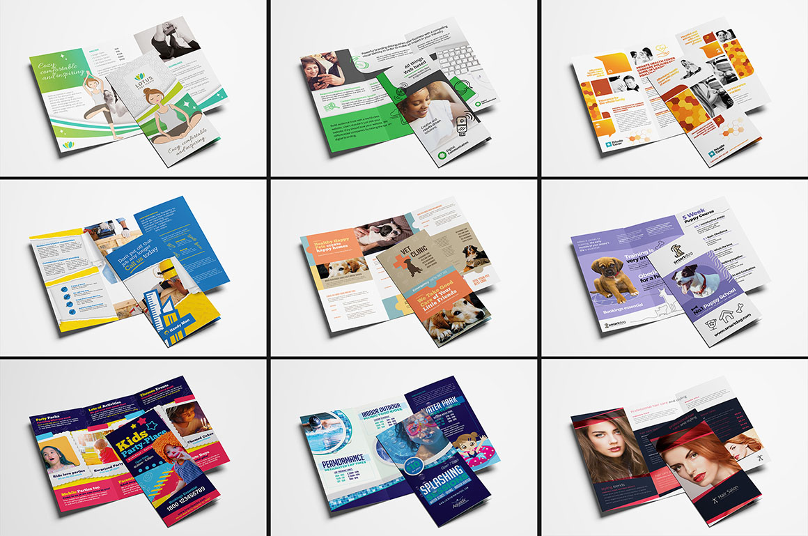 600 премиум шаблонов флаеров листовок открыток