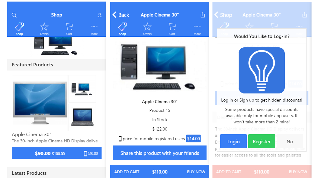 OpenCart] Mobile App Builder Source Code with OpenCart API