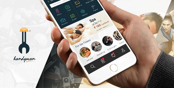 iOS, Android] Handyman - шаблон моб  приложения на ionic3